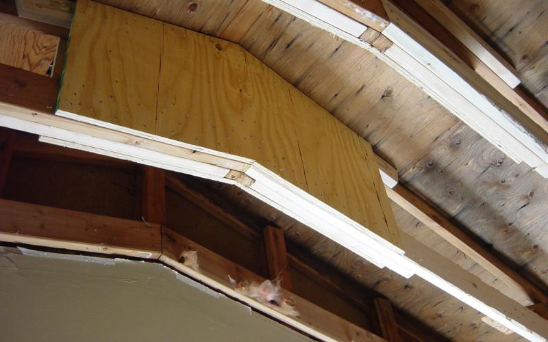 Wood Truss Repair : Coon rapids kitchen ihp builders